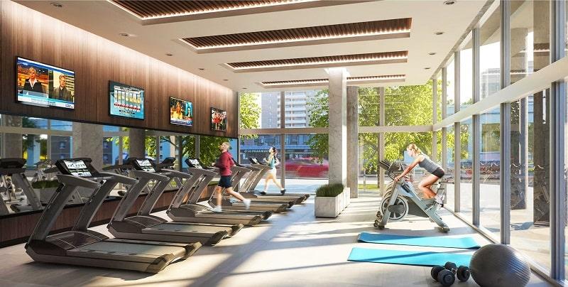 Đối với những dự án cao cấp như The Grand Hà Nội, tiện ích phòng gym là không thể thiếu. Vì vậy sinh sống tại dự án này, cư dân có thể thoải mái tham gia tập gym mọi lúc ngay tại không gian nhà mình một cách tiện lợi nhất.